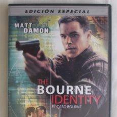 Cine: DVD. EL CASO BOURNE ( MATT DAMON - FRANKA POTENTE ). EDICIÓN ESPECIAL. Lote 58218101