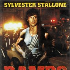 Cine: DVD RAMBO ACORRALADO SYLVESTER STALLONE . Lote 58321682