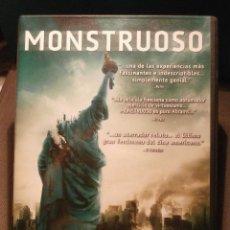 Cine: PELICULA - DVD - MONSTRUOSO CLOVERFIELD - JJ ABRAMS. Lote 58340700