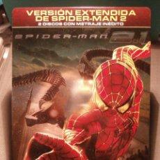 Cine: PELICULA - DVD - SPIDERMAN 2 - EDICIÓN ESPECIAL COLECCIONISTA - 2 DISCOS - CAJA METÁLICA -. Lote 146101761