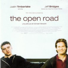 Cine: DVD THE OPEN ROAD JUSTIN TIMBERLAKE. Lote 58361797