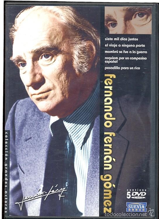 DVD FERNANDO FERNAN GOMEZ (COLECCION 5.DVD:) OFERTA DE LO MEJOR DE ESTE IRREPETIBLE AUTOR Y ACTOR, usado segunda mano