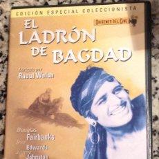 Cine: RAOUL WALSH. EL LADRON DE BAGDAD. VERSIÓN MUDA CON VIRADOS DE COLOR. DOUGLAS FAIRBANKS. Lote 58442296