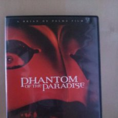 Cine: PHANTOM OF THE PARADISE DVD. Lote 58454258