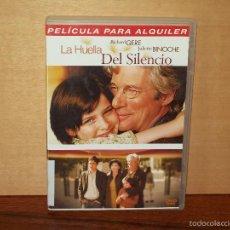 Cine: LA HUELLA DEL SILENCIO - RICHARD GERE - JULIETTE BINOCHE - DVD EDICION ALQUILER. Lote 198111236
