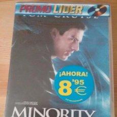 Cine: DVD MINORITY REPORT, SÓLO USADO UNA VEZ.. Lote 58568293