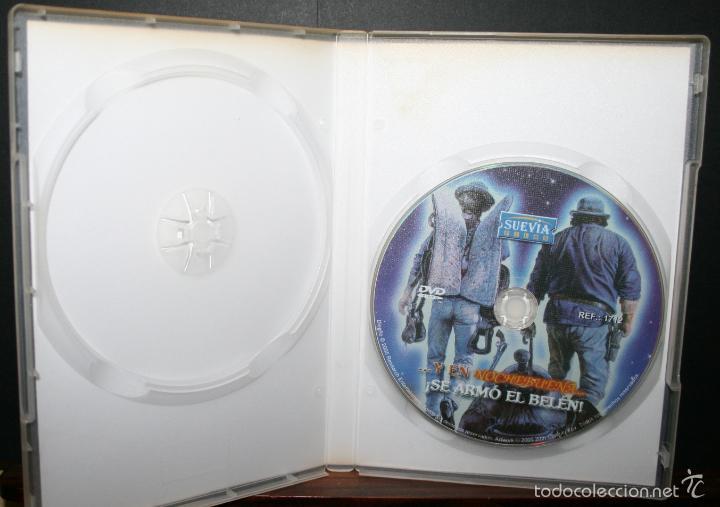 Cine: DVD - Y EN NOCHEBUENA...¡SE ARMÓ EL BELÉN! - DIR. TERENCE HILL - Foto 2 - 58573121