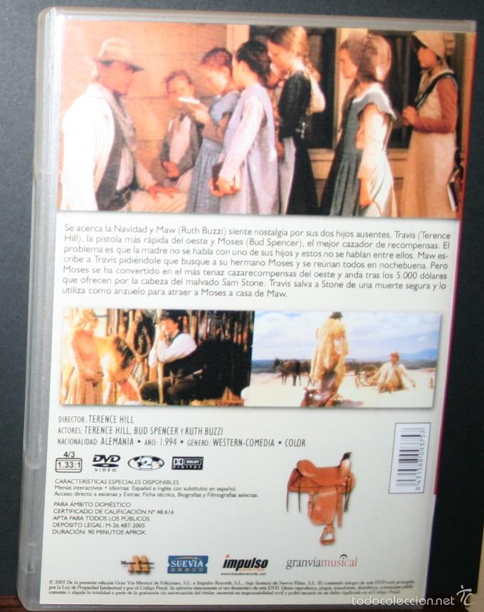 Cine: DVD - Y EN NOCHEBUENA...¡SE ARMÓ EL BELÉN! - DIR. TERENCE HILL - Foto 3 - 58573121