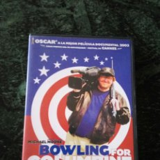 Cine: BOWLING FOR COLUMBINE. MICHAEL MOORE. Lote 58585062