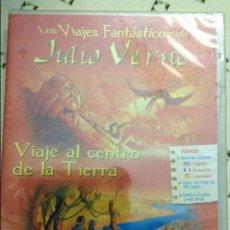 Cine: LOS VIAJES FANTÁSTICOS DE JULIO VERNE. VIAJE AL CENTRO DE LA TIERRA (PRECINTADO). Lote 58588111