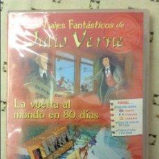 Cine: LOS VIAJES FANTÁSTICOS DE JULIO VERNE - LA VUELTA AL MUNDO EN 80 DÍAS -. Lote 58607173