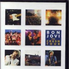 Cine: BON JOVI - THE CRUSH TOUR - DVD. Lote 58642953