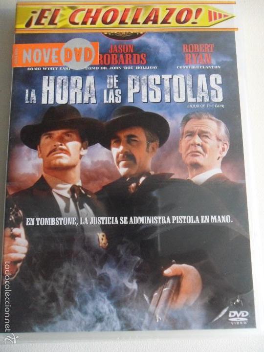LA HORA DE LAS PISTOLAS. DVD DE LA PELICULA DE JOHN STURGES. CON JAMES GARNER, JASON ROBARDS, ROBERT (Cine - Películas - DVD)