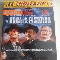 Cine: LA HORA DE LAS PISTOLAS. DVD DE LA PELICULA DE JOHN STURGES. CON JAMES GARNER, JASON ROBARDS, ROBERT. Lote 58659722
