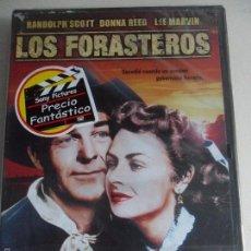 Cine: LOS FORASTEROS. DVD DE LA PELICULA DE RANDOLPH SCOTT, DONNA REED Y LEE MARVIN. NUEVO A ESTRENAR.. Lote 58673400