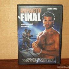 Cine: IMPACTO FINAL - LORENZO LAMAS - DVD. Lote 58686337