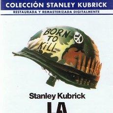 Cine: DVD LA CHAQUETA METÁLICA STANLEY KUBRICK. Lote 58766657