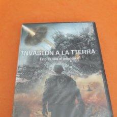 Cine: INVASION A LA TIERRA (NUEVO PRECINTADO). Lote 58857605