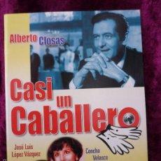 Cine: 1 DVD CASI UN CABALLERO.CONCHA VELASCO ALFREDO LANDA. GASTOS DE ENVIO 2,50€ CORREOS ORDINARIO. Lote 58864331