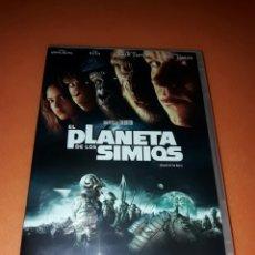 Cine: EL PLANETA DE LOS SIMIOS ( NUEVO PRECINTADO DVD ). Lote 58958617