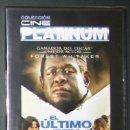 Cine: DVD - EL ÚLTIMO REY DE ESCOCIA - DIR. KEVIN MACDONALD. Lote 59085505