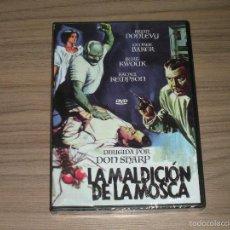 Cine: LA MALDICION DE LA MOSCA DVD BRIAN DONLEVY NUEVA PRECINTADA. Lote 293755058
