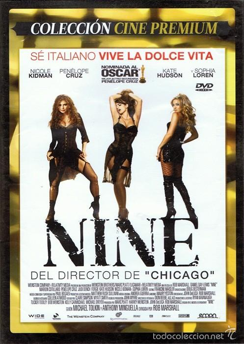 DVD NINE NICOLE KIDMAN & SOPHIA LOREN (Cine - Películas - DVD)