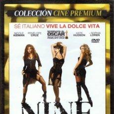 Cine: DVD NINE NICOLE KIDMAN & SOPHIA LOREN . Lote 59483635
