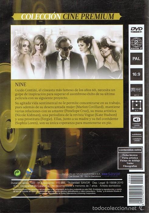 Cine: DVD NINE NICOLE KIDMAN & SOPHIA LOREN - Foto 2 - 59483635