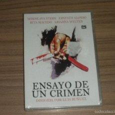 Cine: ENSAYO DE UN CRIMEN DVD DE LUIS BUÑUEL NUEVA PRECINTADA. Lote 295625648