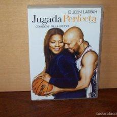 Cine: JUGADA PERFECTA - QUEEN LATIFAH - COMMON PAULA PATTON - DVD. Lote 269389433