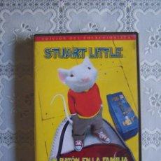 Cine: DVD STUART LITTLE, UN RATÓN EN LA FAMILIA. EDICIÓN COLECCIONISTA. FORMATO PANORÁMICO.. Lote 59964515