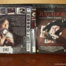 Cine: EL JUGADOR - DIRIGIDA POR DARIO ARGENTO -DVD EDICION ALQUILER. Lote 59994007
