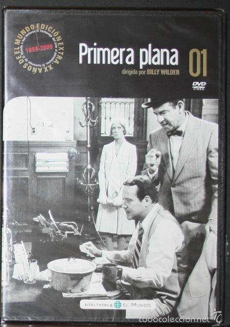 DVD - PRIMERA PLANA - DIR. BILLY WILDER (Cine - Películas - DVD)