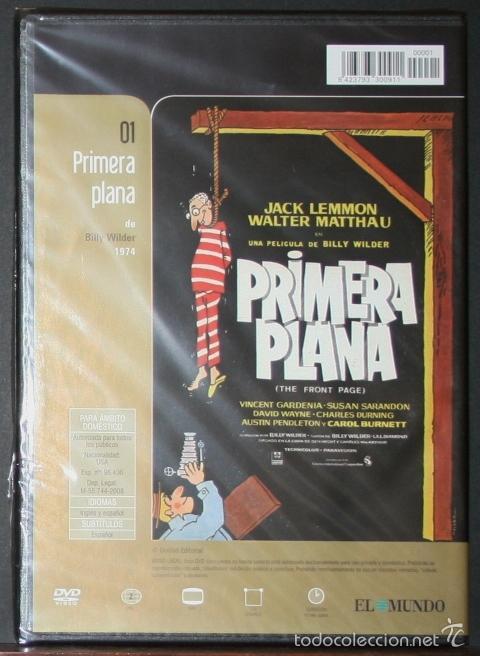 Cine: DVD - PRIMERA PLANA - DIR. BILLY WILDER - Foto 2 - 60009419