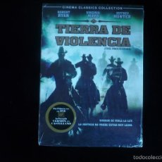 Cine: TIERRA DE VIOLENCIA ( NUEVO PRECINTADO). Lote 90508917