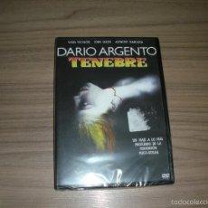 Cine: TENEBRE DVD DE DARIO ARGENTO TERROR NUEVA PRECINTADA. Lote 288227188