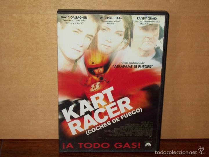 Kart racer (coches de fuego) - dvd - Vendido en Venta Directa - 60510775