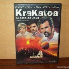 Cine: KRAKATOA - AL ESTE DE JAVA - MAXIMILIAN SCHELL - DIANE BAKER - BRIAN KEITH - DVD. Lote 60529167