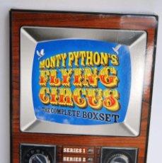 Cine: MONTY PYTHON'S FLYING CIRCUS THE COMPLETE BOXSET SERIE COMPLETA DVD CON DVD DE EXTRAS INEDITO ESPAÑA. Lote 60573043
