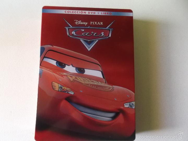 CARS -DVD Y EL LIBRO EDICION DE LUJO CAJA DE METAL - 0006305 BSR (Cine - Películas - DVD)