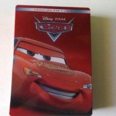 Cine: CARS -DVD Y EL LIBRO EDICION DE LUJO CAJA DE METAL - 0006305 BSR. Lote 60590619