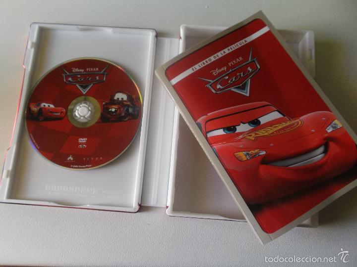 Cine: CARS -DVD Y EL LIBRO EDICION DE LUJO CAJA DE METAL - 0006305 BSR - Foto 3 - 60590619