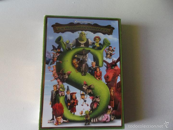 SHREK LA HISTORIA COMPLETA - 5 PELICULAS (Cine - Películas - DVD)