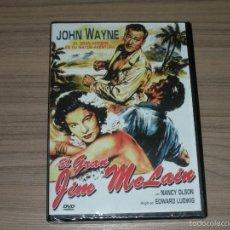 Cine: EL GRAN JIM MCLAIN DVD JOHN WAYNE NUEVA PRECINTADA. Lote 257657385
