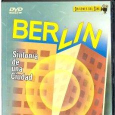 Cine: BERLIN SINFONIA DE UNA CIUDAD DVD : UNA PELICULA IRREEMPLAZABLE DE BERLIN EN 1927. GENIAL !!. Lote 142122458