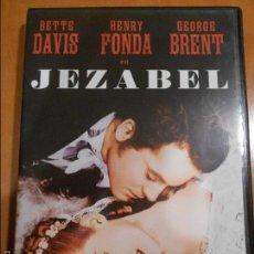 Cine: JEZABEL. DVD DE LA PELICULA DE BETTE DAVIS Y HENRY FONDA.. Lote 61029063