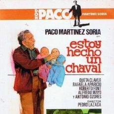 Cine: DVD ESTOY HECHO UN CHAVAL PACO MARTÍNEZ SORIA. Lote 217560728