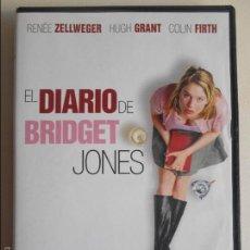 Cine: EL DIARIO DE BRIDGET JONES. DVD DE LA PELICULA DE RENEE ZELLWEGER Y HUGH GRANT.. Lote 61238619