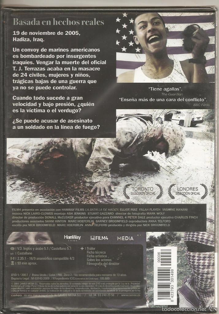 Cine: La batalla de Hadiza. DVD (precintado) - Foto 2 - 61310287